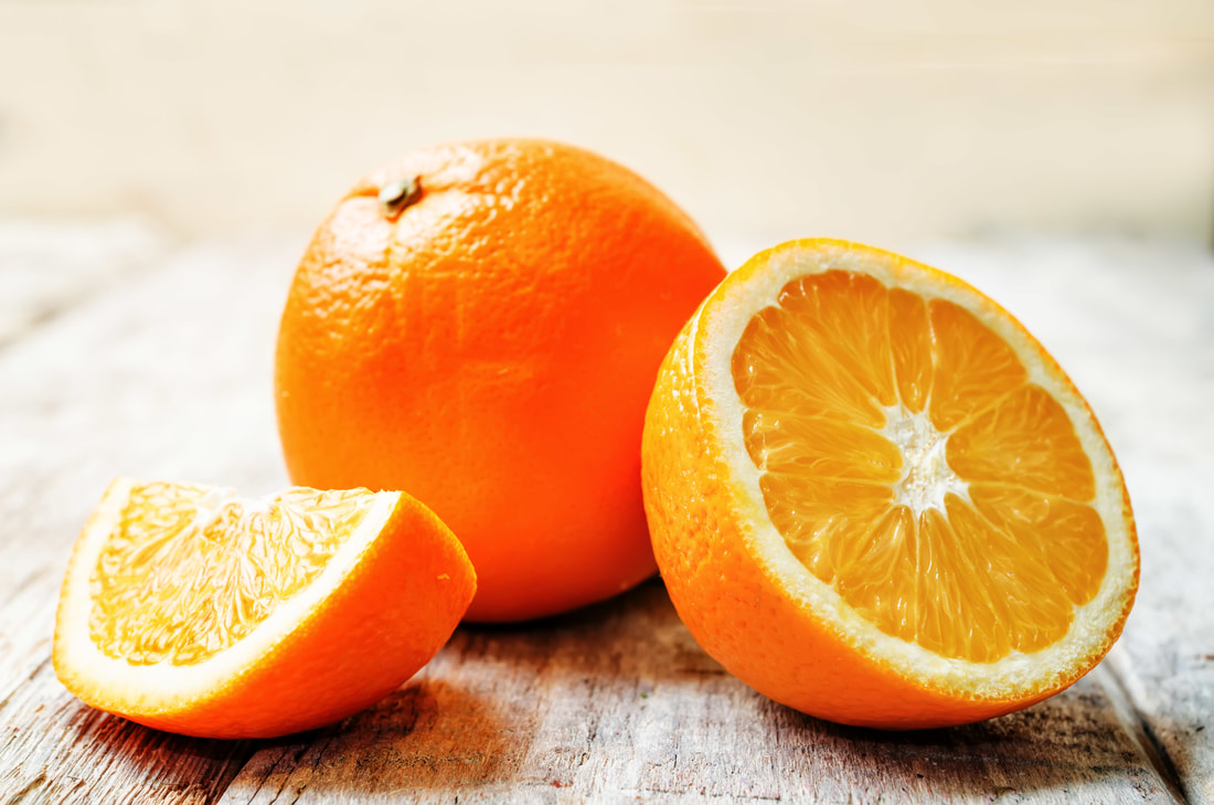 oranges can help keep your garbage disposal clean